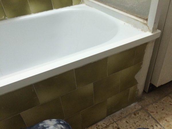 חידוש קנט לאמבטיה ברמת גן - אחרי